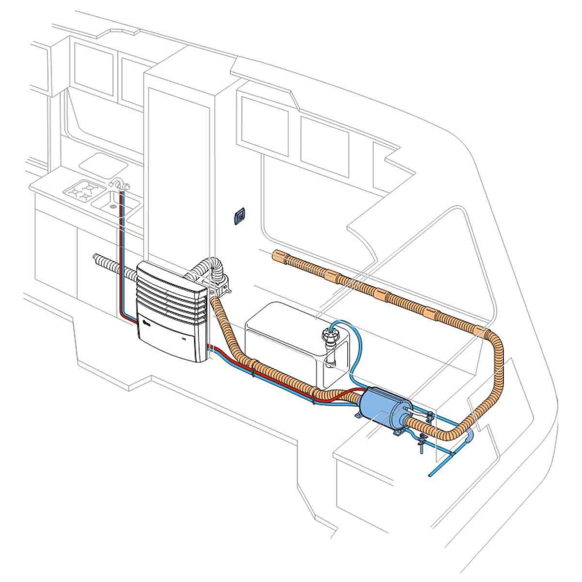 Truma Therme Tt2 Electric Water Heater Caravan Motorhome